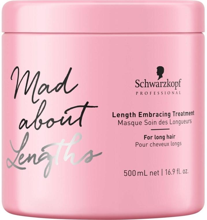 Intensywnie odżywiająca maska do długich włosów - Schwarzkopf Professional Mad About Lengths Embracing Treatment — фото N2
