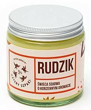 Kup Sojowa świeca zapachowa Rudzik - Cztery Szpaki