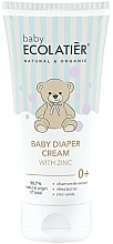 Kup Krem pod pieluchy dla dzieci z cynkiem - Ecolatier Baby Diaper Cream With Zinc