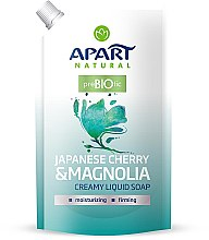 Kup Mydło w płynie Japońska wiśnia i magnolia - Apart Natural Japanese Cherry & Magnolia Soap (uzupełnienie)