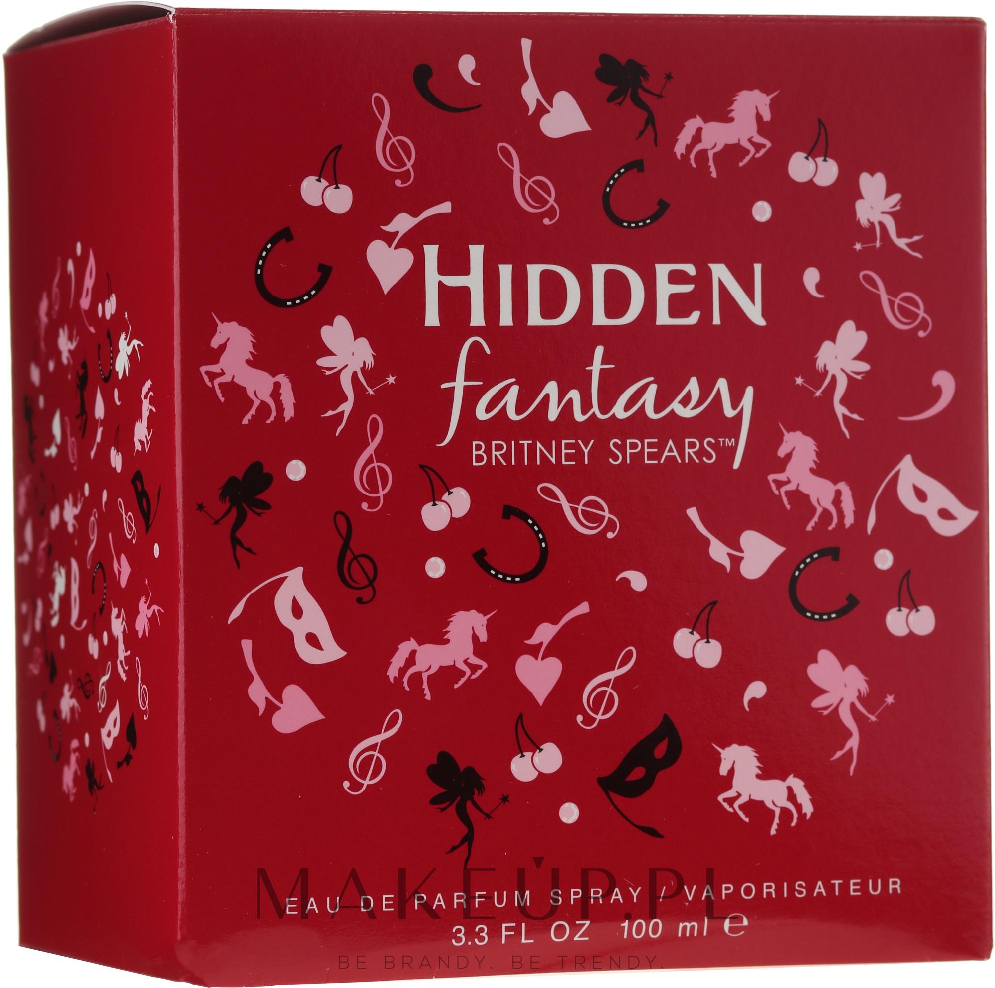 Britney Spears Hidden Fantasy - Woda perfumowana — фото 100 ml