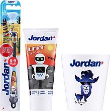 Kup Zestaw - Jordan Junior Set (toothpaste/50ml + toothbrush/1pc + cup)