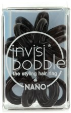 Kup Gumki do włosów, 3 szt. - Invisibobble Nano True Black