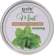 Kup Oczyszczająca peelingująca galaretka do twarzy Mięta - Eco U Cleansing Mint Sugar Jelly Face Scrub