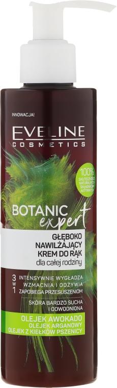 Głęboko nawilżający krem 3 w 1 do rąk dla całej rodziny - Eveline Cosmetics Botanic Expert  — фото N1
