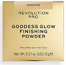 Kup Sypki puder - Revolution Pro Goddess Glow Finishing Powder