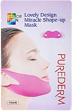 Kup Maska bandażowa na podbródek i kości policzkowe - Purederm Lovely Design Miracle Shape-up V-line Mask