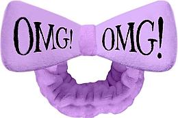 Kup Opaska kosmetyczna do włosów, fioletowa - Double Dare OMG! Purple Hair Band