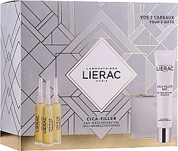 Kup Zestaw - Lierac Cica-Filler (serum/3x10ml + cr/gel/40ml + bag)