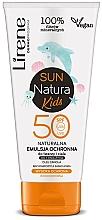 Kup Naturalna emulsja ochronna do twarzy i ciała dla dzieci SPF 50+ - Lirene Sun Natura Kids Protective Emulsion SPF50+