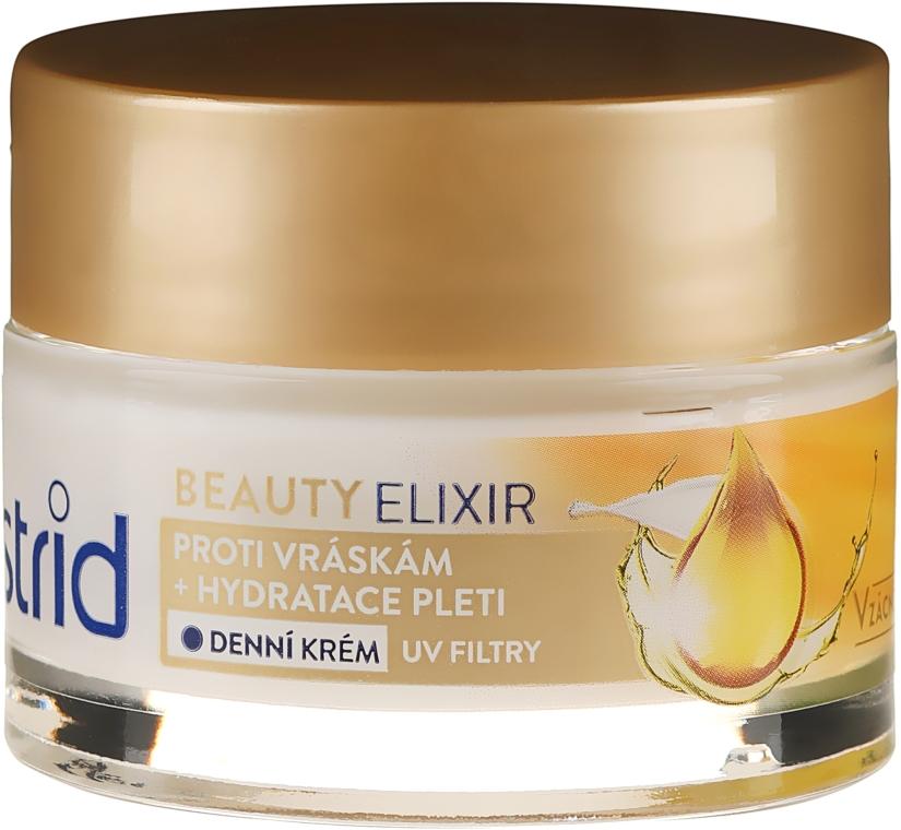 Nawilżający krem przeciwzmarszczkowy do twarzy na dzień - Astrid Beauty Elixir Moisturizing Anti-Wrinkle Day Cream — фото N2