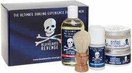 Kup Zestaw - The Bluebeards Revenge Deluxe Kit (sh/crem/100ml + post/sh/balm/125ml + pre-shave/oil/125ml + deo/50ml + shaving brush)