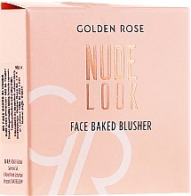 Kup Róż do policzków - Golden Rose Nude Look Face Baked Blusher