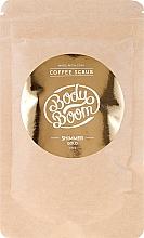 Kup Rozświetlający peeling kawowy do ciała - BodyBoom Coffe Scrub Shimmer Gold
