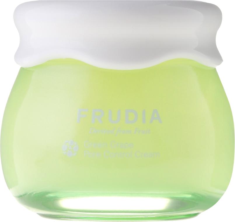 Winogronowy krem do twarzy wyrównujący gospodarkę hydrolipidową - Frudia Pore Control Green Grape Cream — фото N2