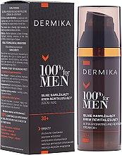 Kup Rewitalizujący krem silnie nawilżający dla mężczyzn 30+ - Dermika 100% For Man