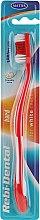 Kup Twarda szczoteczka do zębów, czerwona - Mattes Rebi-Dental M43