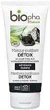 Kup Maska oczyszczająca z aloesem i węglem aktywnym - Biopha Nature Mask Detox