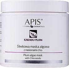 Kup Śliwkowa maska algowa z nasionami chia - APIS Professional Kakadu Plum