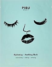 Kup Nawilżająco-kojąca maska w płacie do twarzy - Pibu Beauty Hydrating-Soothing Mask