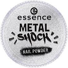 Metaliczny puder do paznokci - Essence Metal Shock Rainbow Nail Powder — фото N1