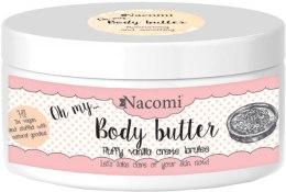Kup Masło do ciała Waniliowy crème brûlée - Nacomi Body Butter Fluffy Vanilla Creme Brulee