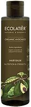 Kup Odżywczy balsam wzmacniający do włosów - Ecolatier Organic Avocado Hair Balm