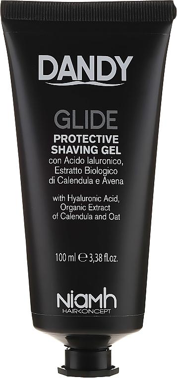 Ochronny żel do golenia - Niamh Hairconcept Dandy Glide Protective Shaving Gel — фото N1