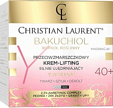 Kup Przeciwzmarszczkowy krem liftingujący do twarzy, szyi i dekoltu 40+ - Christian Laurent Bakuchiol Retinol Lifting Cream