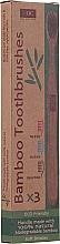 Kup Zestaw szczoteczek bambusowych - Xoc Eco Friendly Soft Bristle Toothbrush